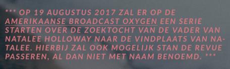 Final Note to Part III (Achter De Schermen Bij Robbert Van Den Broeke)