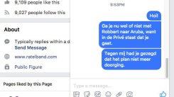 Robbert van den Broeke, Emile Ratelband/Aruba. https://twitter.com/Genverbrander10/status/949157187279990789
