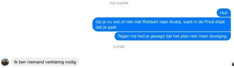 Robbert van den Broeke, Emile Ratelband/Aruba. https://twitter.com/Genverbrander10/status/949370345089245184