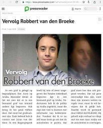 Robbert van den Broeke, Emile Ratelband/Aruba. https://twitter.com/Genverbrander10/status/948581741106638851