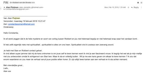 Emails Alan Sieradzki