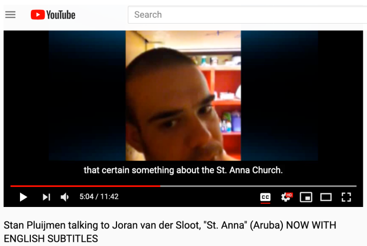 "Joran van der Sloot talking to Stan Pluijmen about ""St.Anna"""