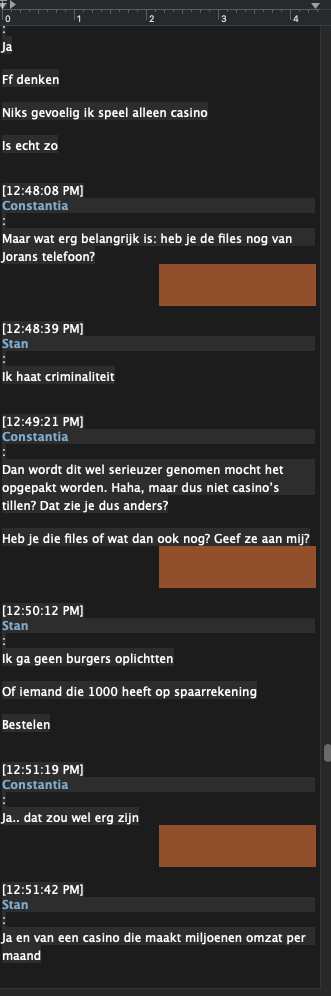Stan Pluijmen Chat, 9 september 2020