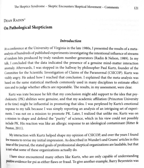 Journal of Anomalistics Zeitschrift für Anomalistik Vol 21, Issue 1, 2021  uitgegeven door Gesellschaft für Anomalistik, Psychologie und Psychohygiene